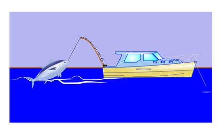 atun rojo: fondo de pesca de atún