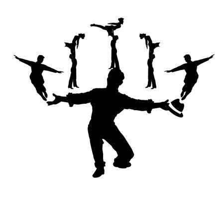 ダンスの振付師のシーケンス