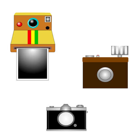 era: vintage cameras