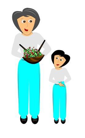 harem: mother like daughter