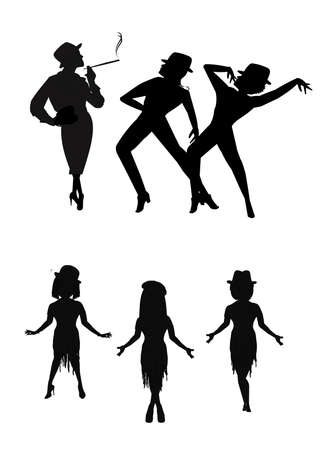 Broadway choreografie Stockfoto - 27457975