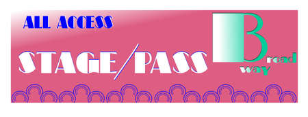 full access backstage pass