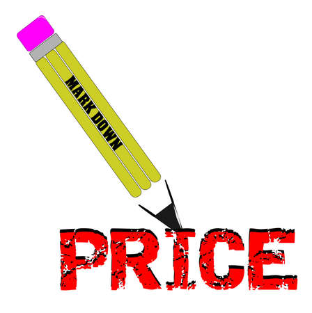 markdown: pencil price markdown