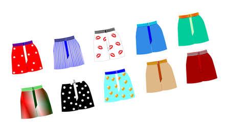 mens boxer shorts set