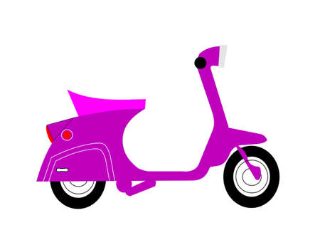 pink scooter  Çizim