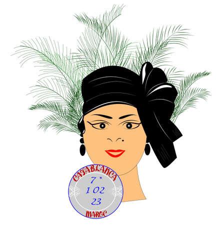 femme fatale: Casablanca concept