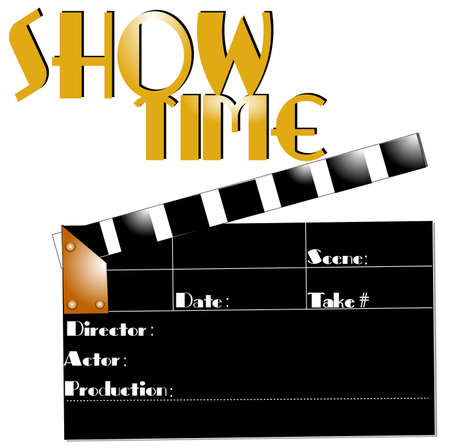 show time: show time  Illustration