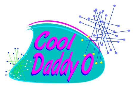 Daddy Cool o concetto Archivio Fotografico - 30191888