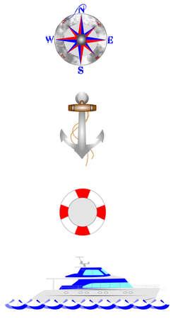 boating: safe boating Illustration