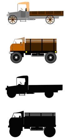 old items: vintage trucks