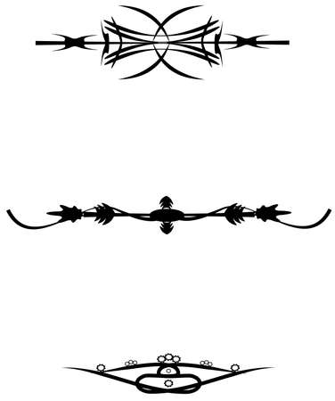 respecting: tattoo designs for lower back Stock Photo