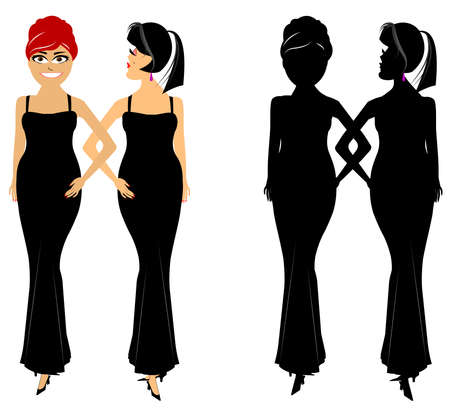 gals: classy dames
