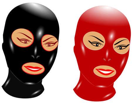 submissive: bondage masks
