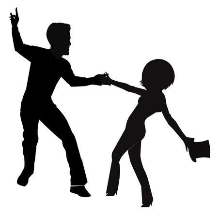 shorter: contemporary dance couple