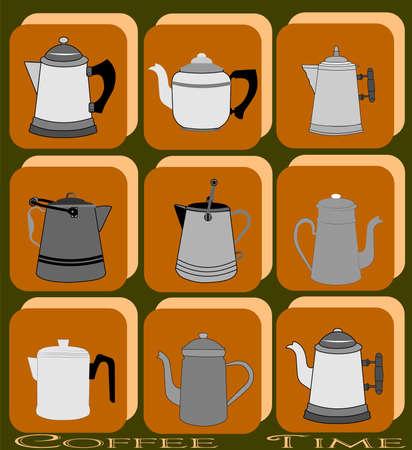 coffee pot: coffee pot background