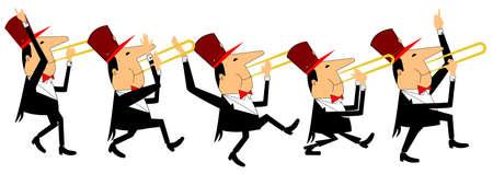 trombon: trombonistas