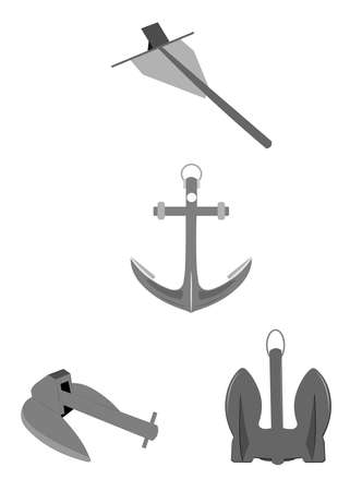 anchors for marine use