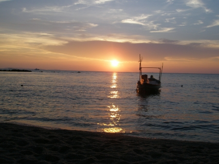 amat: The most banal sunset in Pattaya, Thailand