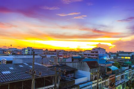 Morning in Surat Thani  Thailand