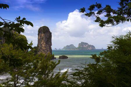 nang: Tonsai Bay. Krabi Province. Thailand, Ao Nang, Muang.
