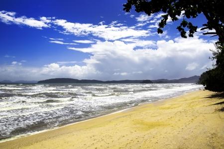 aonang: Noppara Thara Beach. Krabi Province of Thailand, Aonang. Stock Photo