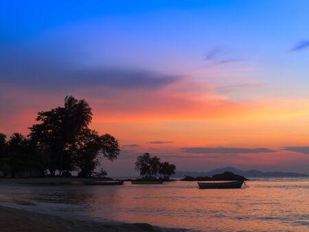 amat: Wong Amat Beach Sundown. North of Pattaya City, Thailand.