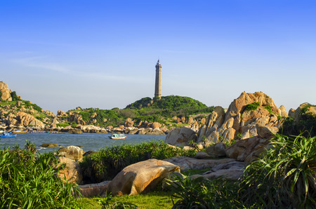 ga: Khe Ga Lighthouse in Than Thanh Commune.