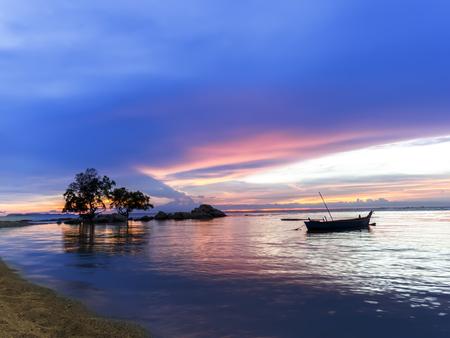 Wong Amat Sundown. North of Pattaya City, Thailand. photo