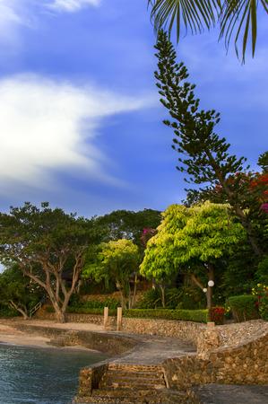 amat: Paradise Beach on Wong Amat  North of Pattaya City, Thailand  Stock Photo