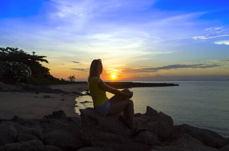 amat: Seeing Off the Sun on Wong Amat Beach.