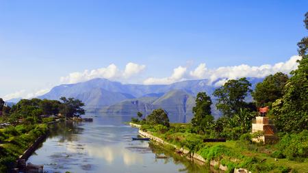 sumatra: Samosir Island in Lake Toba, North Sumatra, Indonesia.