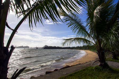 klong: Klong Muang Beach in Krabi Province, Thailand