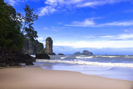 phangnga: Rocks and Sea in Krabi Province, Thailand