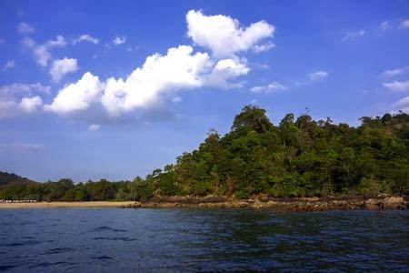 trang: Koh Mook Island Coast Line. Trang Province, South Thailand