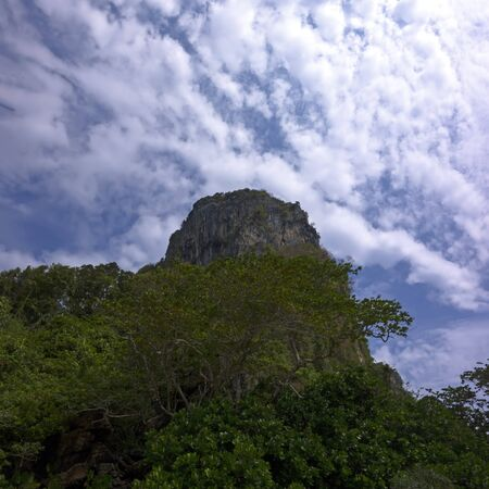 mook: Koh Mook Island Hill. Trang Province, South Thailand