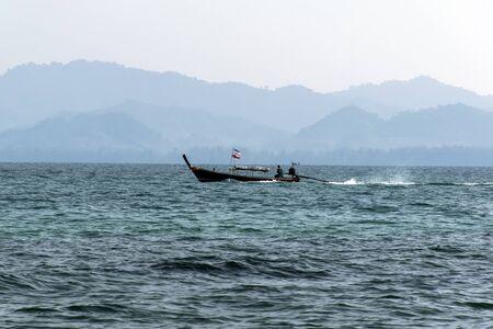 mook: Koh Mook Island Coast Line. Trang Province, Boat