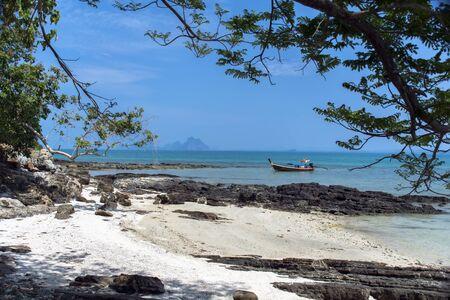 Longtail Boat near Koh Mook Island in Trang Province
