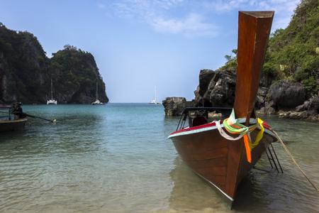 mook: Little Bay of Koh Mook Island. Coast Line.