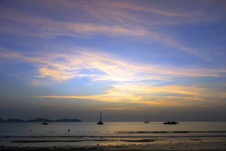 mook: Koh Mook Island Coast Line Sunset Sky