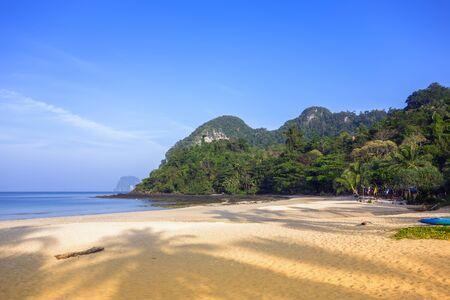 mook: Koh Mook Island. Charlie Beach at Morning