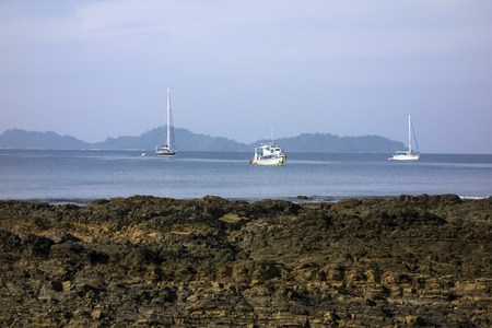 mook: Ship and Yachts in Koh Mook Island