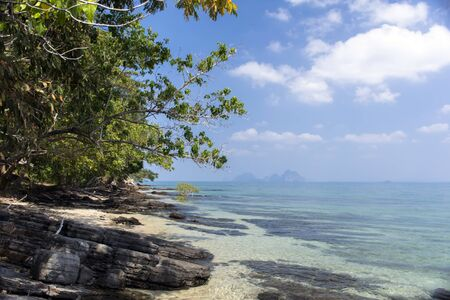trang: Koh Mook Island Coast Line. Trang Province in South Thailand