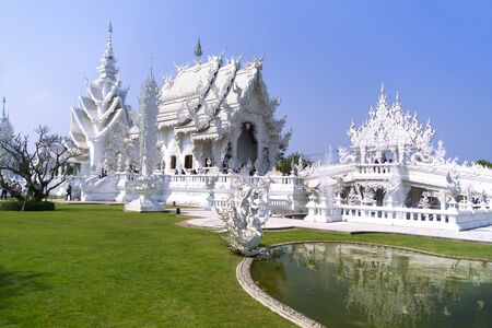 foreigners: Garden of Wat Rong Khun. More well-known among foreigners as the White Temple