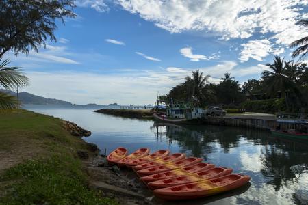 trat: Koh Chang Island, Klong Prao Beach in Trat Province Stock Photo