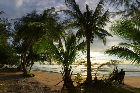 trat: Koh Chang, Trat Province of Thailand. Klong Prao Beach View