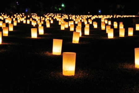 lightup: Lightup at Ukigumoenchi park during Tokae festival, Nara