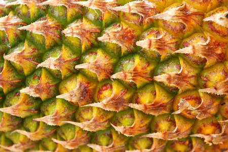 Ripe Pineapple fruit texture. For food and beverage, healthcare, abstract and diet and nutrition concepts.