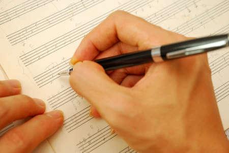 rękopis: Komponować muzykÄ™ na RÄ™kopis Starego. Dla pojÄ™cia takie jak muzyka skÅ'adu i pomysÅ'y i kreatywnoÅ›ci.