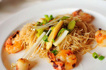 hoon: Special Chinese style seafood noodles also known as bee hoon.