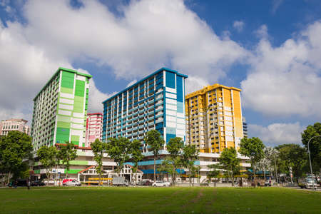 hdb: Singapore, 23 Feb 2016: Prominent landmark of Rochor Centre, slated to be demolished in 2016 to make way for new highway. Editorial